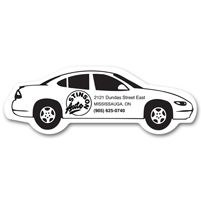 Promotional Magnets - Car Shaped