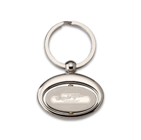 Promotional Key Chains - Oval Rotating Rings