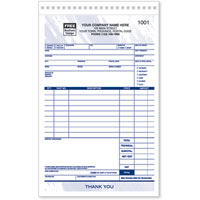 Work Orders, Estimates & Service Agreements, Sales & Service Order Forms