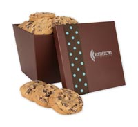 Chocolates & Cookies, Large Tapered Cookie Box