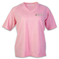 Business Clothing, Promotional Wicking V-Neck Ladies T-Shirt