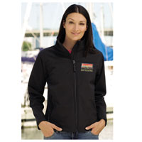 Business Clothing, Branded Soft Shell Ladies Jacket