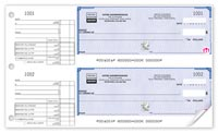 Manual Business Cheques, 2-To-A-Page French High Security Cheques - 22 Security Featu