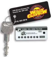 Loyalty Key Tags - Custom Printing