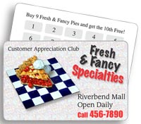 Loyalty Cards - Custom Printing - 4/1